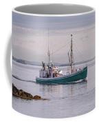 Vintage Sardine Carrier Michael Eileen Coffee Mug