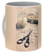 Vintage Sewing Coffee Mug