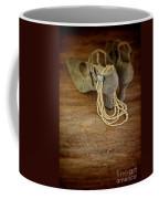 Vintage Shoes And Pearls Coffee Mug