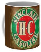 Vintage Sinclair Gasoline Sign Coffee Mug