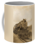 Vintage Steam Locomotive Coffee Mug