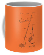 Vintage Stecher Gold Club Patent - 1960 Coffee Mug