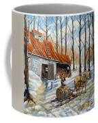 Vintage Sugar Shack By Prankearts Coffee Mug
