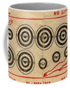 Vintage Target Card Coffee Mug