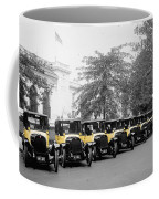 Vintage Taxis 3 Coffee Mug