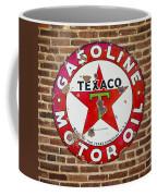 Vintage Texaco Gasoline Sign Dsc07195 Coffee Mug