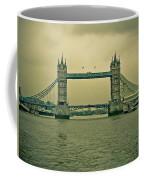 Vintage Tower Bridge Coffee Mug