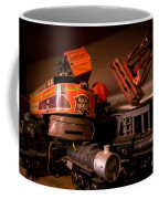 Vintage Toy Trains Coffee Mug