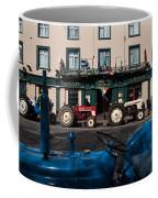 Vintage Tractors Lined Coffee Mug