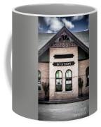 Vintage Train Station Coffee Mug