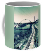 Vintage Train Tracks In Nashville Coffee Mug
