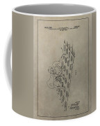 Vintage Twister Game Patent Coffee Mug