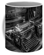 Vintage Typewriter Coffee Mug by Adrian Evans