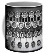 Vintage Typewriter Coffee Mug by Edward Fielding