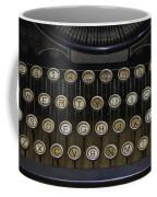 Vintage Typology Coffee Mug by Heather Applegate