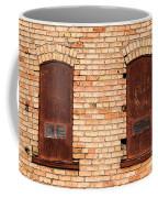 Vintage Urban Brick Building - Salt Lake City Coffee Mug