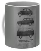 Vintage Volkswagen Ad 1971 Coffee Mug