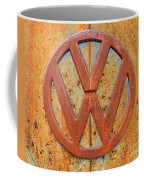 Vintage Volkswagen Bus Logo Coffee Mug