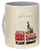 Vintage Volkswagen Camper Van  Coffee Mug