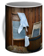Vintage Washboard Laundry Day Coffee Mug
