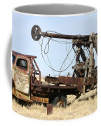 Vintage Water Well Drilling Truck Coffee Mug