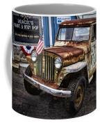 Vintage Willy's Jeep Pickup Truck Coffee Mug