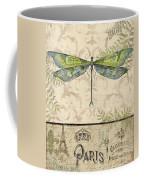 Vintage Wings-paris-g Coffee Mug