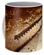Vintage Wood Drill Coffee Mug