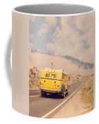 Vintage Yellowstone Bus Coffee Mug