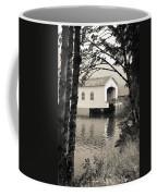 Vintaged Covered Bridge Coffee Mug