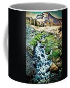 Vintaged Mount Hood Postcard Coffee Mug