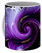 Viola Swirl Coffee Mug