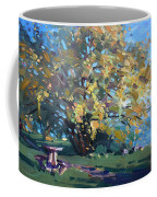 Viola Walking In The Park Coffee Mug