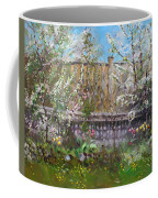 Viola's Apple And Cherry Trees Coffee Mug