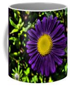 Violet Aster Coffee Mug