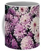 Violet Mums Coffee Mug