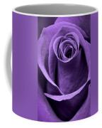 Violet Rose Coffee Mug by Adam Romanowicz