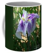 Violet Striped Iris Coffee Mug