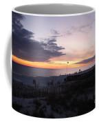 Violet Sunset Over The Sea Coffee Mug