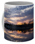 Violet Twilight On The Lake Coffee Mug