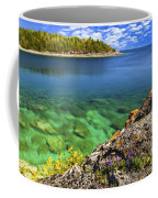 Violets At Georgian Bay Coffee Mug