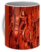 Violin Sculpture  Coffee Mug