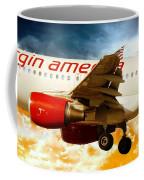 Virgin America A320 Coffee Mug