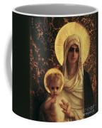 Virgin And Child Coffee Mug by Antoine Auguste Ernest Herbert