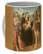 Virgin And Child Between St. John Coffee Mug
