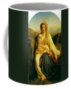 Virgin And Child Coffee Mug by Paul  Delaroche