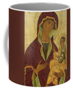 Virgin And Child Coffee Mug by Russian School