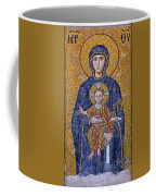 Virgin Mary And Christ Child Coffee Mug
