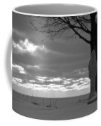 Virgin Mary At Sunset In South Haven Michigan Coffee Mug