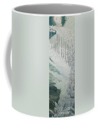 Virgin Of The Lilies Coffee Mug by Carlos Schwabe